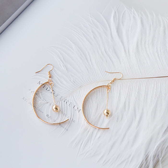 (Pre-Order) Korean Style Asymmetrical Earrings 44