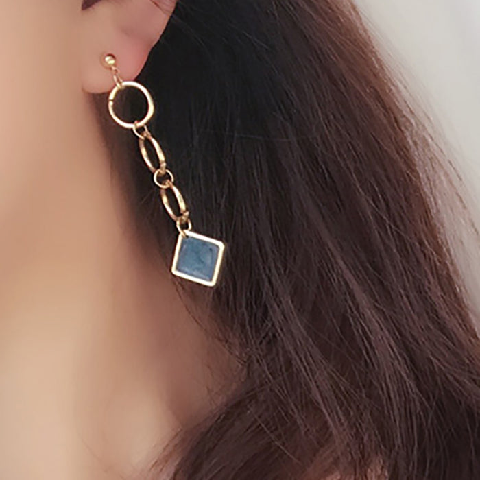 (Pre-Order) Korean Style Temperament Dangle Earrings 44