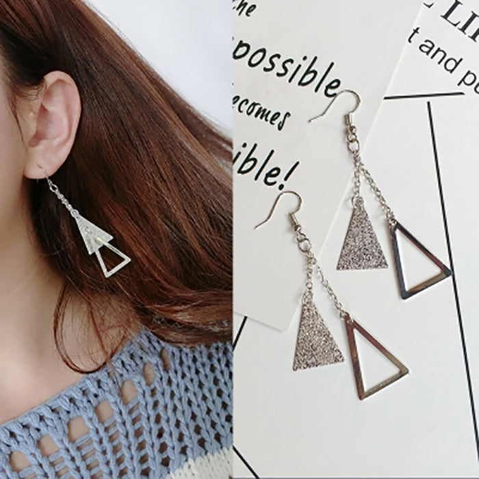 (Pre-Order) Korean Style Asymmetrical Earrings 4