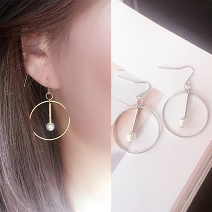 (Pre-Order) Korean Style Asymmetrical Earrings 50