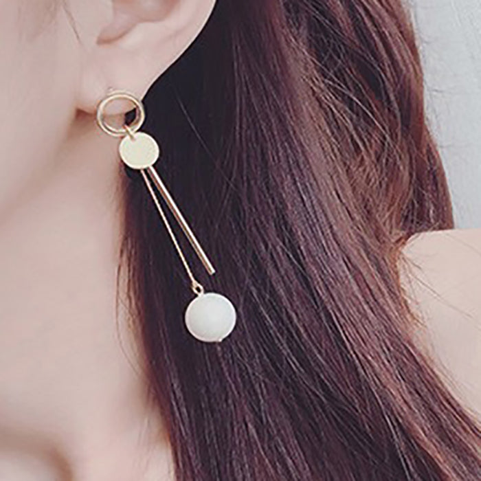 (Pre-Order) Korean Style Temperament Dangle Earrings 52