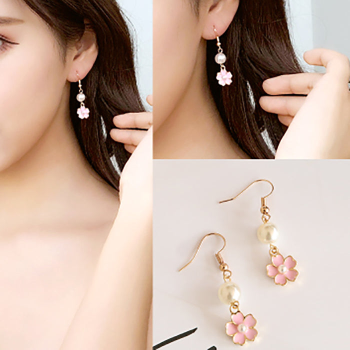 (Pre-Order) Korean Style Asymmetrical Earrings 57
