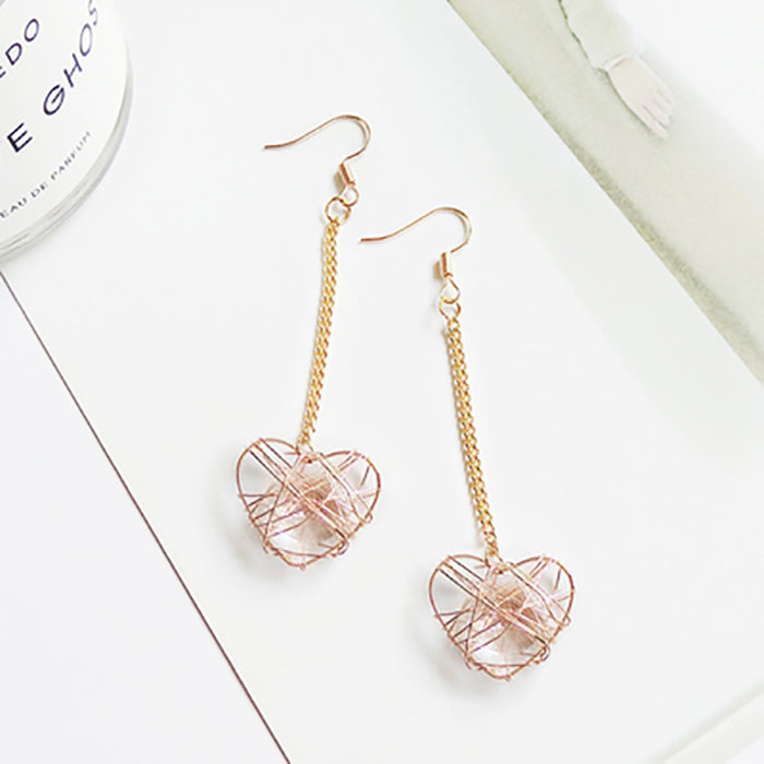 (Pre-Order) Korean Style Asymmetrical Earrings 63
