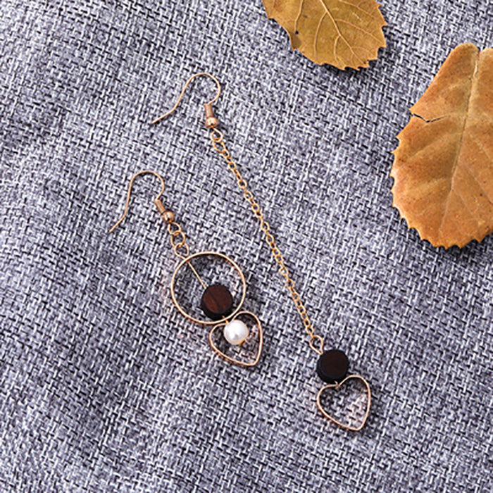 (Pre-Order) Korean Style Asymmetrical Earrings 70