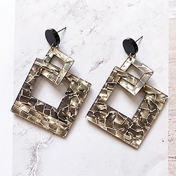 (Pre-Order) Korean Style Temperament Dangle Earrings 7