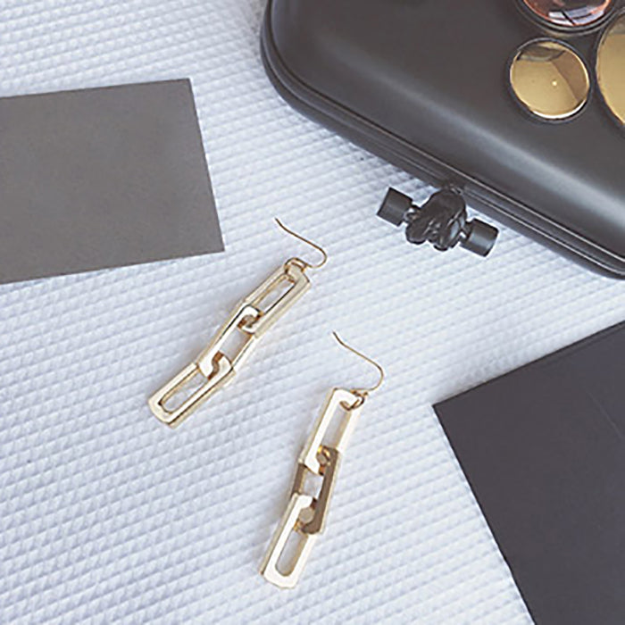 (Pre-Order) Korean Style Temperament Dangle Earrings 8