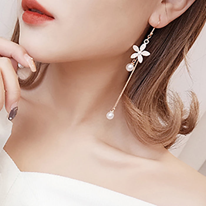 (Pre-Order) Korean Style Temperament Dangle Earrings 9