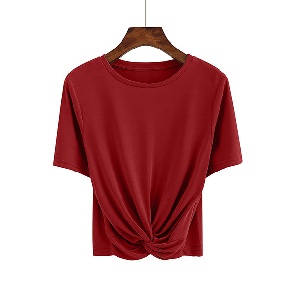 (Pre-Order) Inter-Loop Top in Maroon