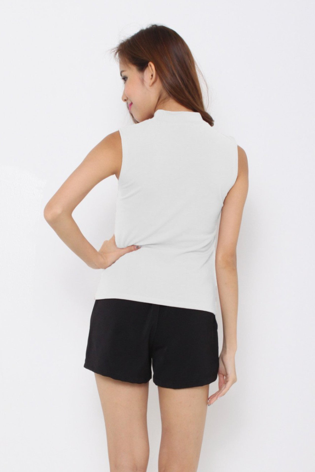 Basic Premium Cotton Top In White