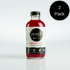 2-Pack 4 oz Bottles of 4X Dragonfruit Jin+Ja Concentrate (8 servings)