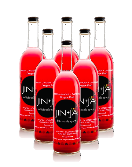 6-Pack of 750ml Bottles of Dragon Fruit - Jin+Ja