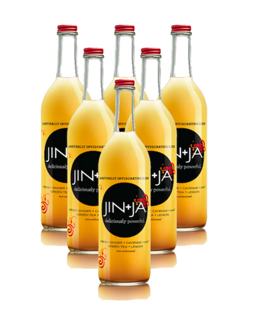 6-Pack 750 ml Bottles of Jin+Ja Original Flavor - Jin+Ja