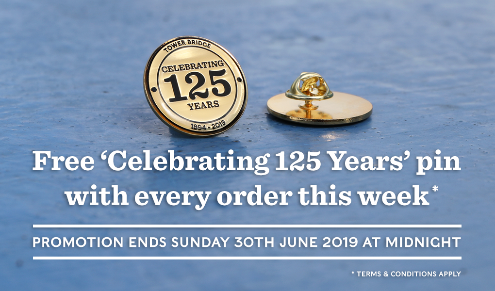 125th Anniversary Enamel Pin Giveaway