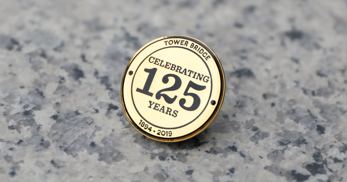 125th Anniversary Pin Badge 2