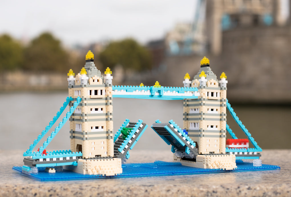 Tower Bridge Nanoblock model