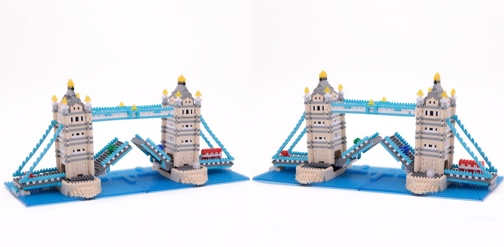 Nanoblock Tower Bridge Deluxe Edition - Assembled model