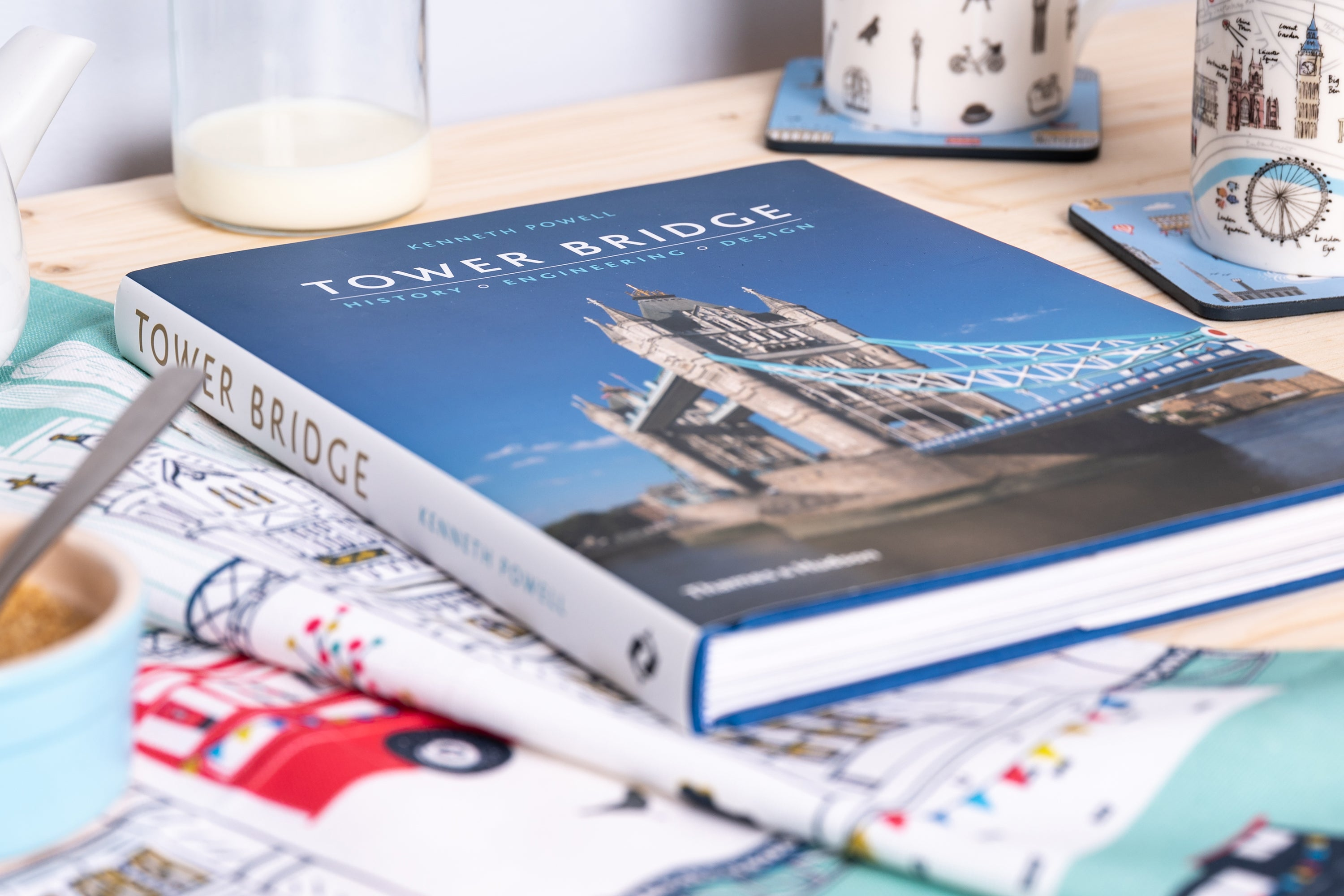 The definitive hardcover book on Tower Bridge is available from our Summer Sale