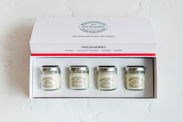 Tiptree English Berries Four Candle Pack