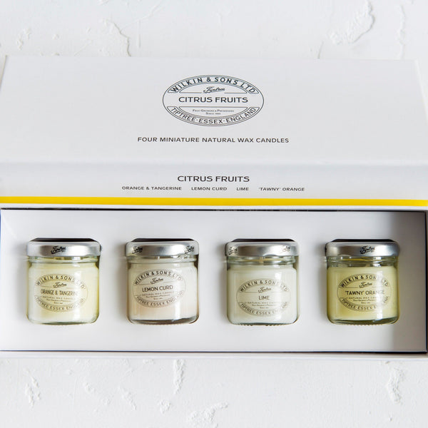 Tiptree Citrus Four Candle Pack