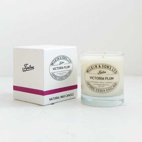 Tiptree Victoria Plum Boxed Candle