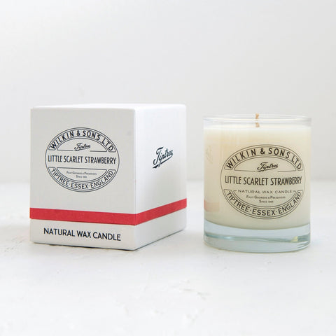 Tiptree Little Scarlet Boxed Candle 01