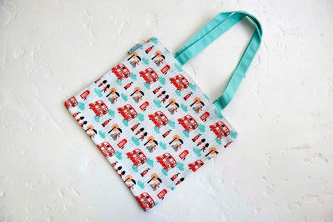 Little Red Bus Tote