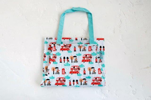 Little Red Bus Child's Apron