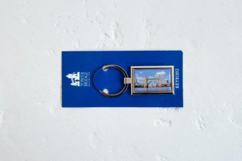 Bridge Lift Photo Metal Keyring
