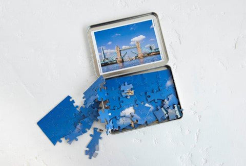 Bridge Lift Jigsaw Puzzle In Tin