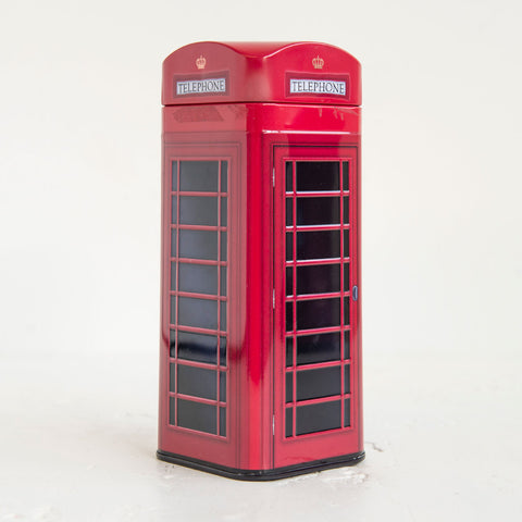 Biscuits In Phone Box Tin 1