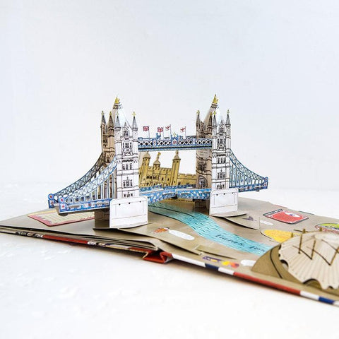 Pop Up London Book 01