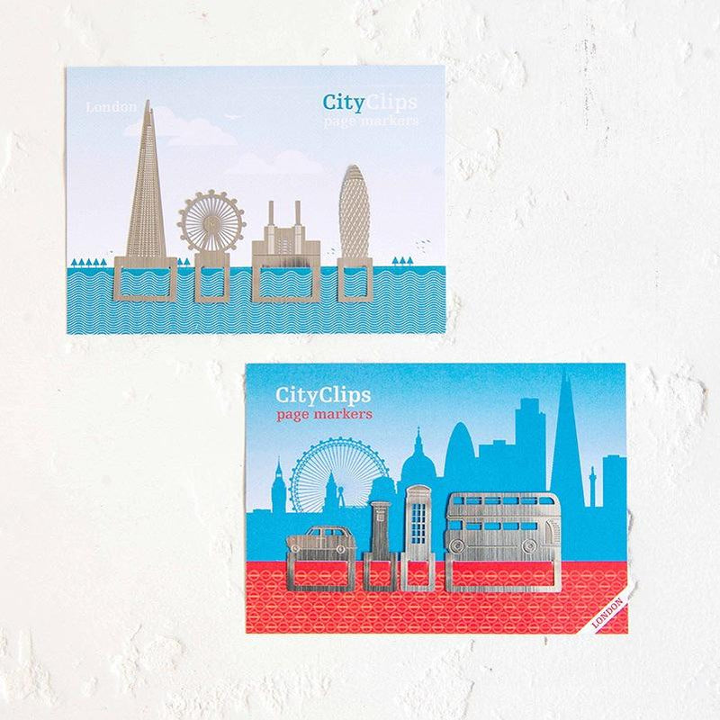 London Icons Metal Page Markers 02