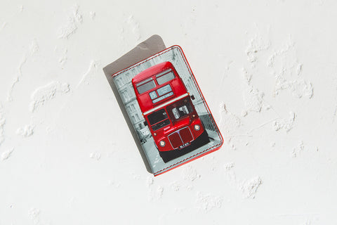 Red Bus Card Wallet 01