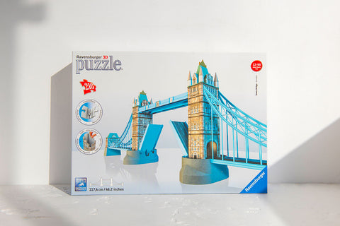 Tower Bridge Building 3D Jigsaw Puzzle 1