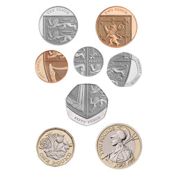 2019 United Kingdom Brilliant Uncirculated Annual Coin Set 3
