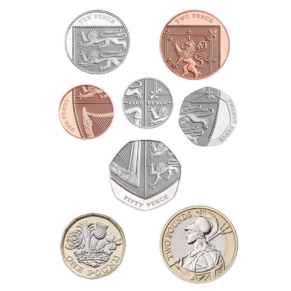 2019 United Kingdom Premium Proof Coin Set - Limited Edition 4