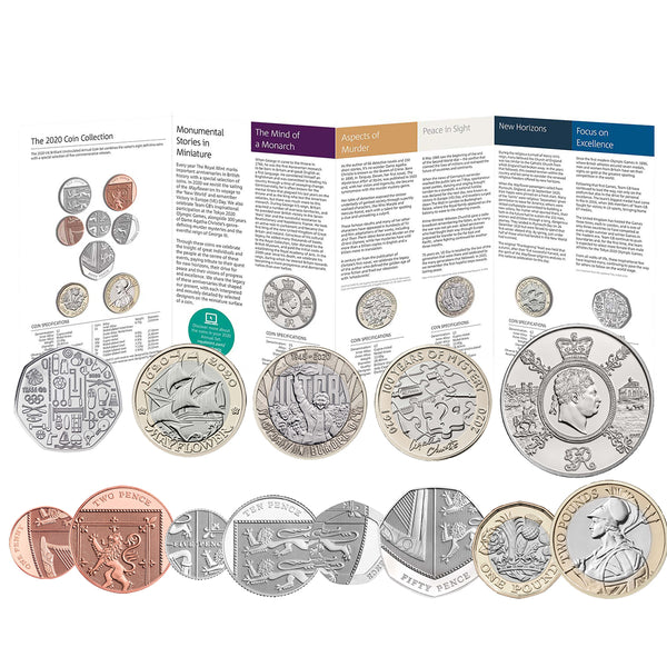 2020 Annual UK Coin Set