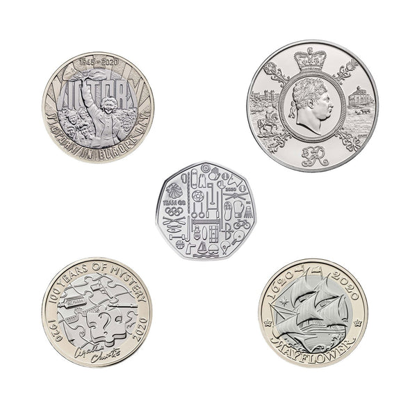 2020 United Kingdom Brilliant Uncirculated Annual Coin Set 3
