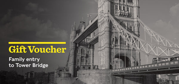 Gift Voucher - Family entry to Tower Bridge