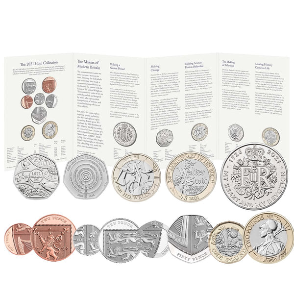 2021 UK Annual Coin Set