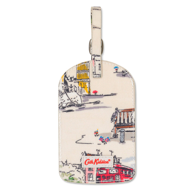 Cath Kidston Billie Goes To Town Luggage Tag