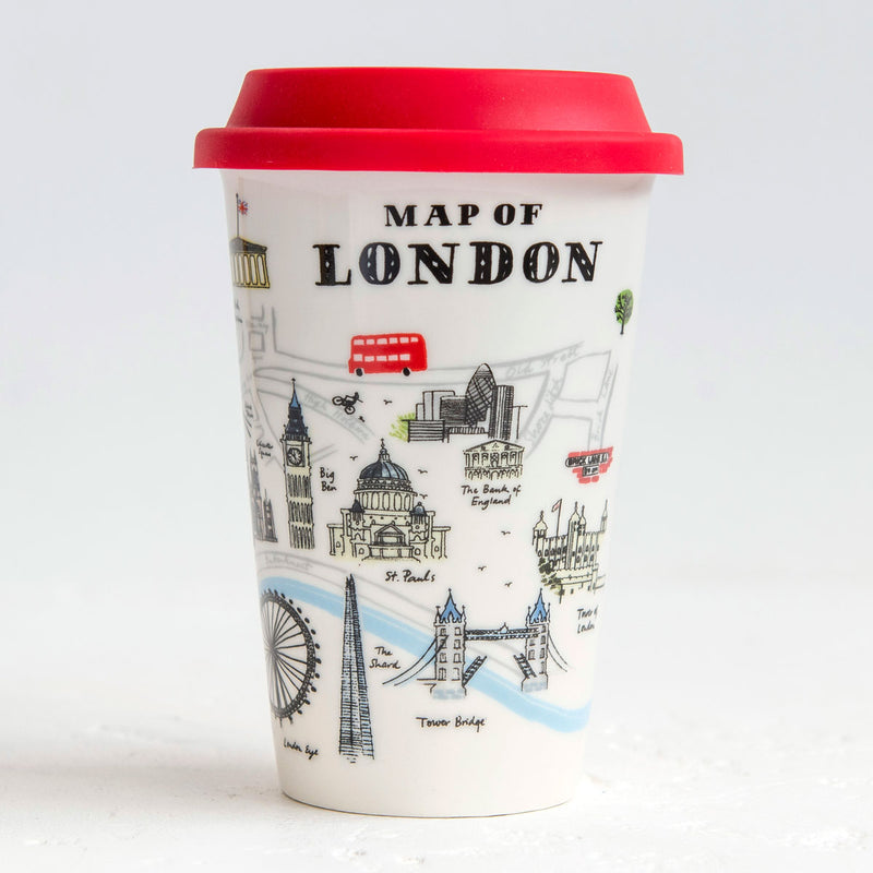 Alice Tait Landscape London Ceramic Travel Mug 01