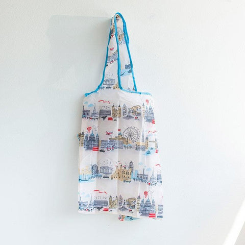 Alice Tait Landscape London Foldaway Bag 01