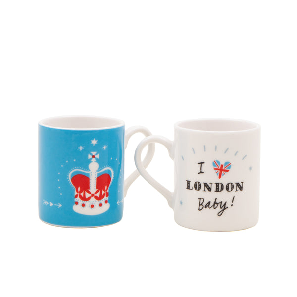 Alice Tait London Espresso Cups Set 2