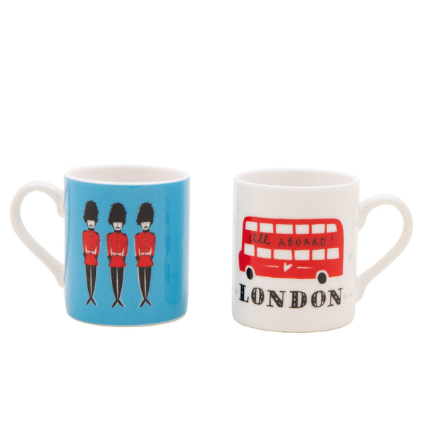 Alice Tait London Espresso Cups Set 1