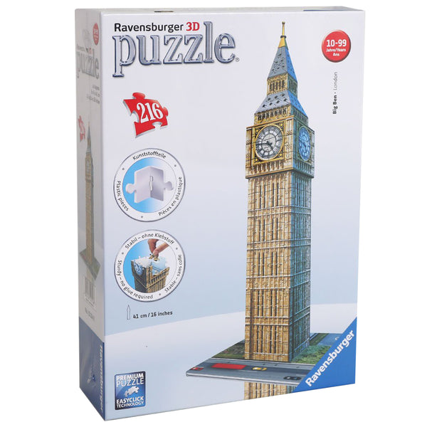 Big Ben 3D Jigsaw Puzzle - 216 Piece - box