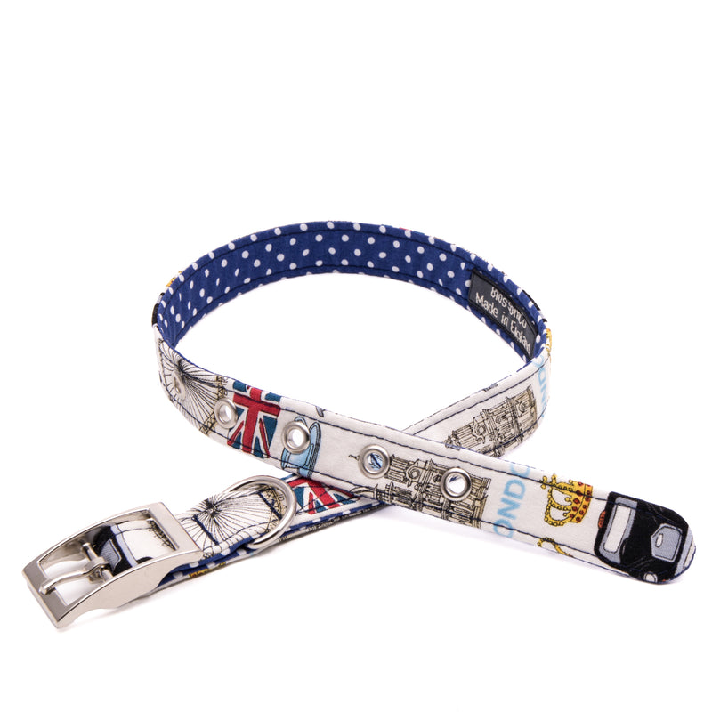 BlossomCo Love London Dog Collar 2