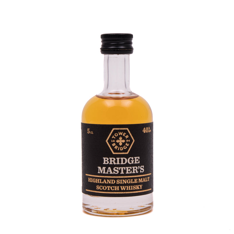 Bridge Master's Highland Single Malt Scotch Whisky 5cl -1