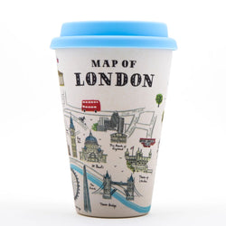 Alice Tait Landscape London Bamboo Travel Mug