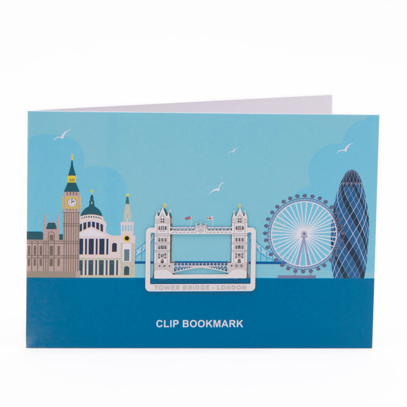 Tower Bridge Clip Bookmark 1
